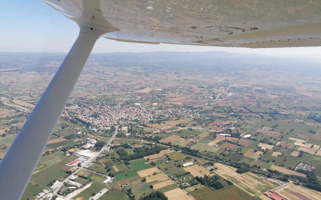 Τσέσνα, πτήση